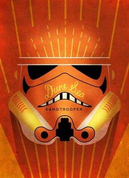 Star Wars Sandtrooper - Star Wars Masked Troopers Displate