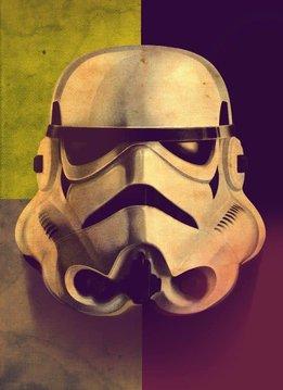 Star Wars Sepia Masked Trooper - Displate