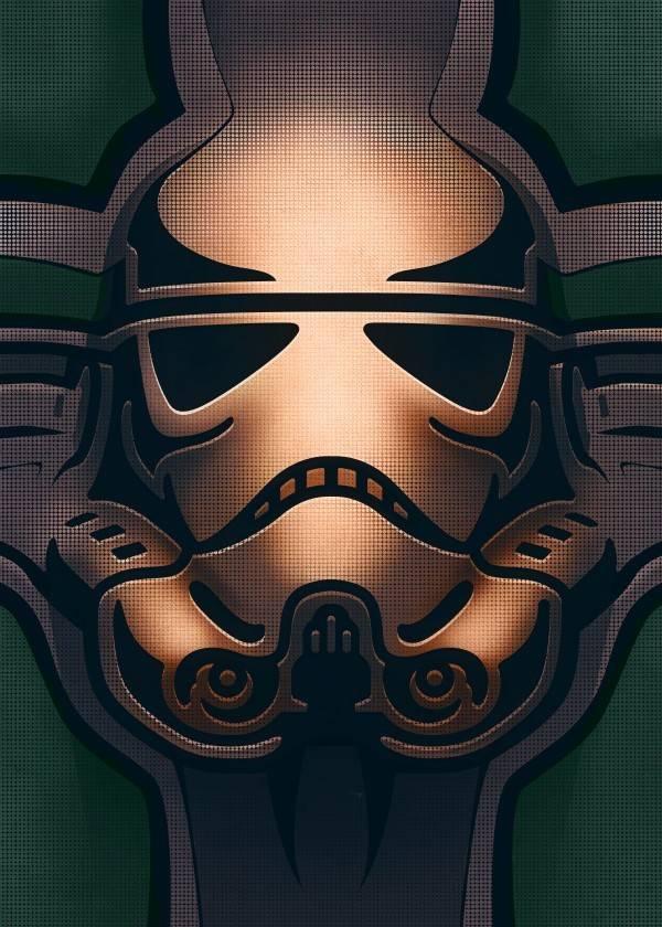 Star Wars Carved - Masked Troopers - Displate