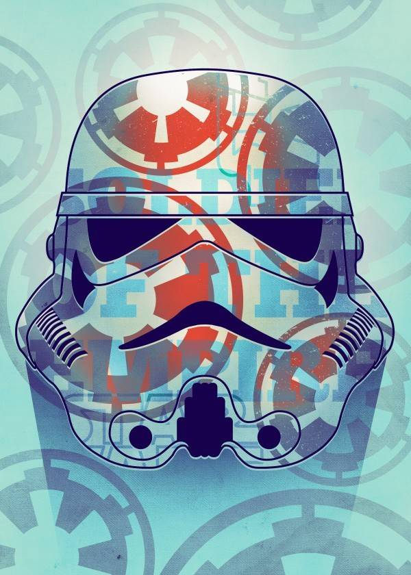 Star Wars Soldier of The Empire - Masked Troopers - Displate