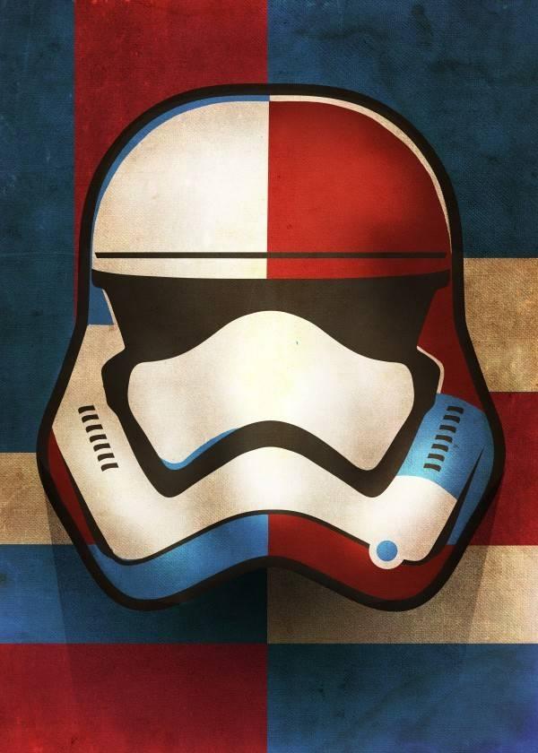 Star Wars First Order Shapes - Masked Troopers - Displate