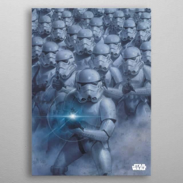 Star Wars Trooper Army - Star Wars Epics Displate Blue