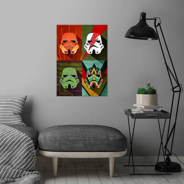 Star Wars Thunder Squad   Pop Art Troopers   Displate
