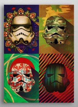 Star Wars Camo Squad - Star Wars Masked Troopers Displate