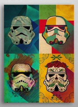 Star Wars Muerte Squad   Pop Art Troopers   Displate