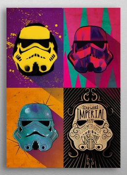 Star Wars Masked Troopers Urban squad - Displate