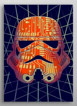 Star Wars chipped - Star Wars Masked Troopers Displate