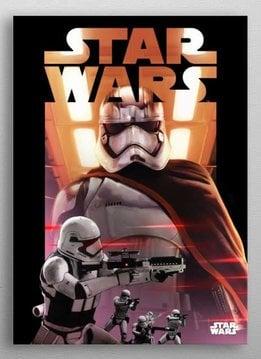Star Wars Phasma -Dark side VS Light side-Displate