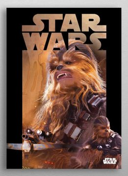 Star Wars Chewbacca -Dark side VS Light side-Displate