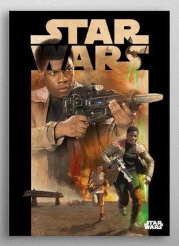 Star Wars Escape from Jakku -Dark side VS Light side-Displate