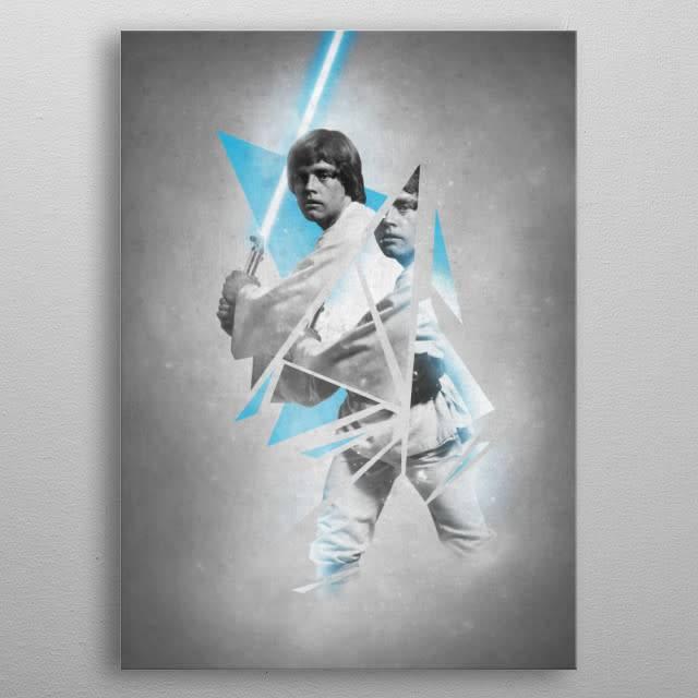 Star Wars Luke - Force sensitive prints - displates