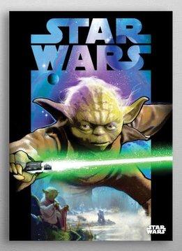 Star Wars Master Yoda | Dark Side vs Light Side | Displate
