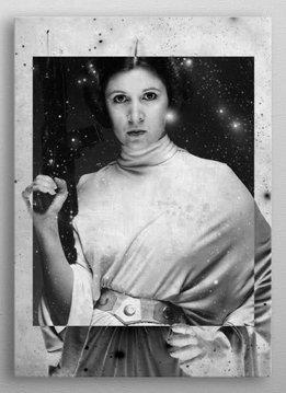 Star Wars Leia Organa- Force sensitive prints - displates