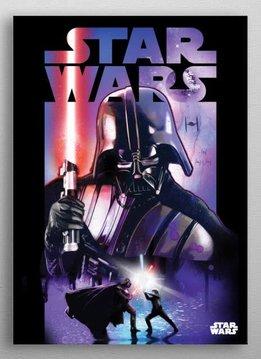 Star Wars Darth Vader   Dark Side vs Light Side   Displate