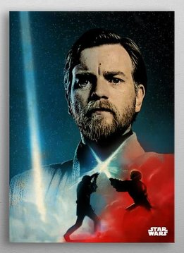 Star Wars Obi-Wan Kenobi -Dual of The Fates- Displate