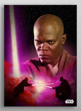 Star Wars Mace Windu -Dual of The Fates- Displate