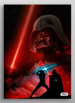 Star Wars Darth Vader -Dual of The Fates- Displate
