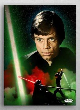 Star Wars Luke Skywalker -Duel of The Fates- Displate