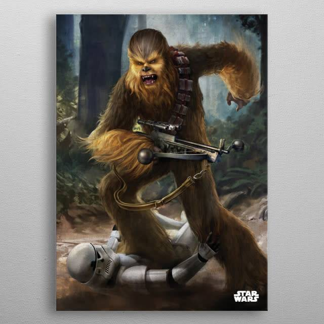 Star Wars Chewbacca -Episode IV A New Hope-Displate
