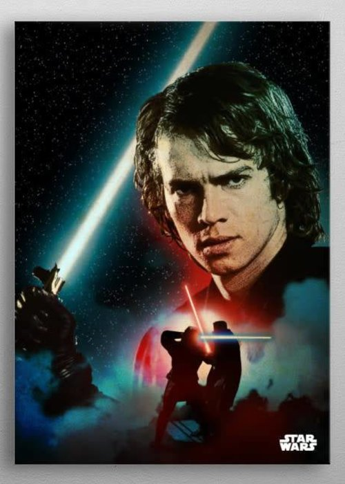 Star Wars Anakin Skywalker -Duel of The Fates- Displate