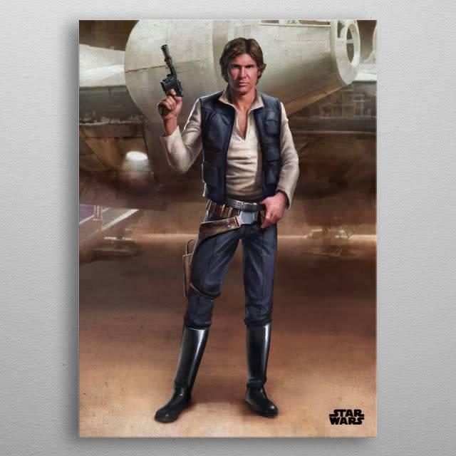Star Wars Han -Episode IV A New Hope-Displate