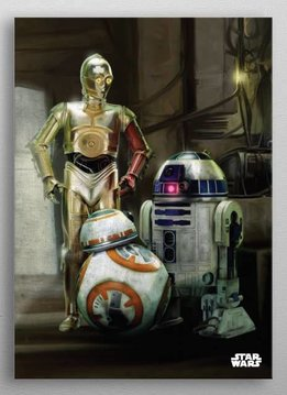 Star Wars Droids   The Force Awakens    Displate