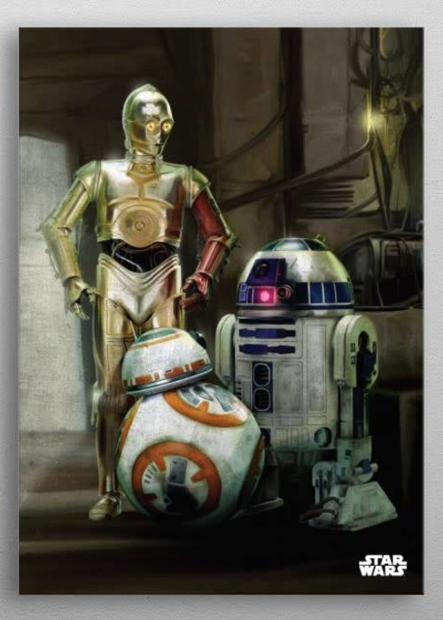 Star Wars Droids | The Force Awakens |  Displate