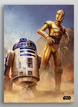 Star Wars Droids | Episode IV A New Hope | Displate