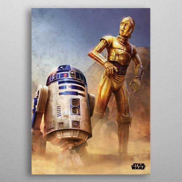 Star Wars Droids -Episode IV A New Hope-Displate