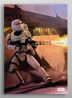 Star Wars Flame Trooper -The Force Awekens- Displate