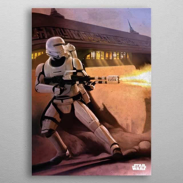 Star Wars Flame Trooper -The Force Awakens- Displate