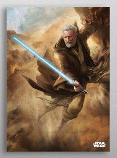 Star Wars Old Ben -Episode IV A New Hope-Displate