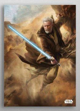 Star Wars Old Ben | Episode IV A New Hope | Displate