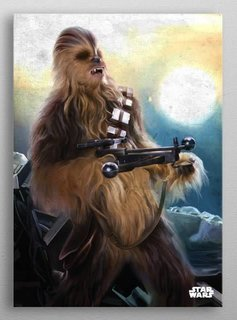 Star Wars Chewie -The Force Awekens- Displate