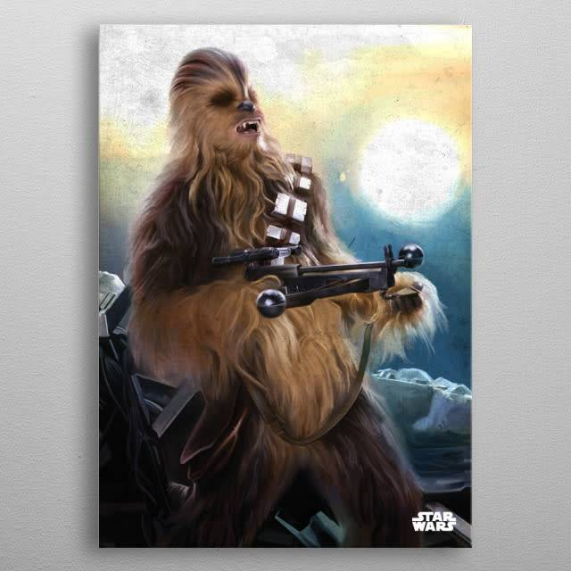Star Wars Chewie -The Force Awakens- Displate