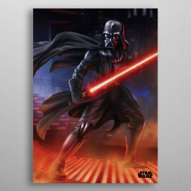 Star Wars Darth Vader -Episode IV A New Hope-Displate