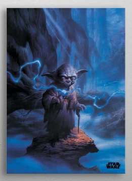 Star Wars Master Yoda -Episode IV A New Hope-Displate