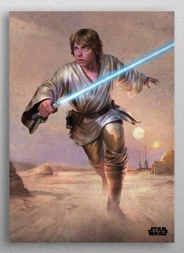 Star Wars Luke | Episode IV A New Hope | Displate