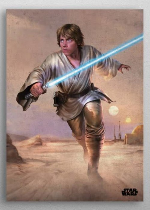 Star Wars Luke   Episode IV A New Hope   Displate