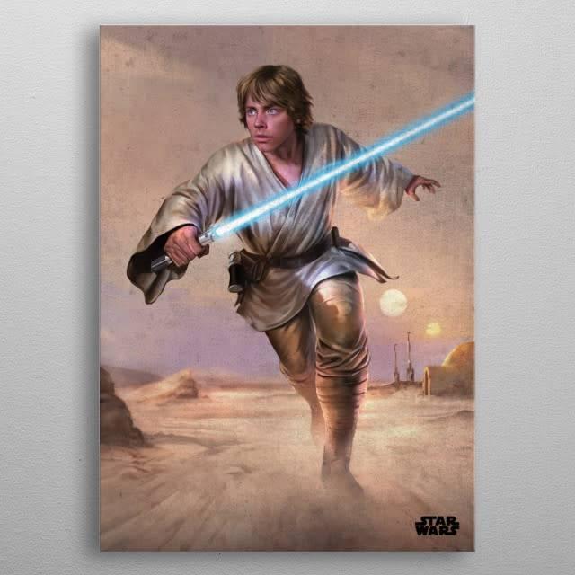 Star Wars Luke -Episode IV A New Hope-Displate