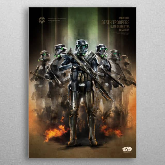 Star Wars Death Troopers -Rogue One Key Forces-Displate