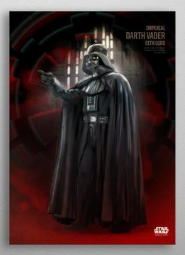 Star Wars Darth Vader | Rogue One Key Forces | Displate