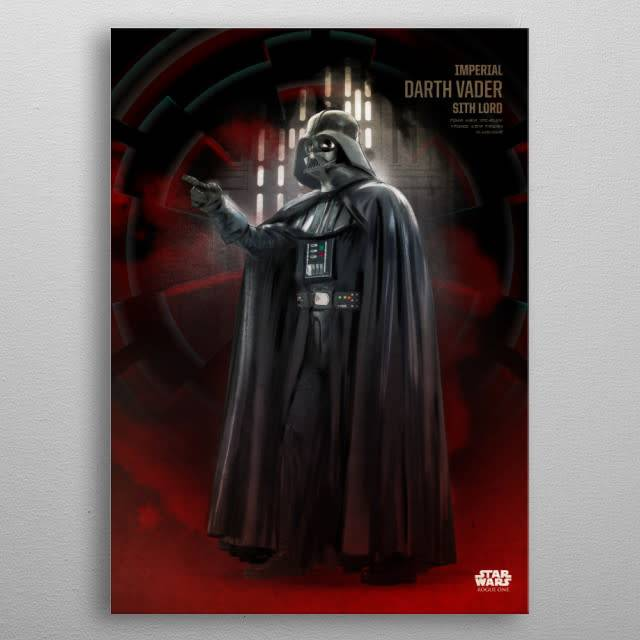 Star Wars Darth Vader -Rogue One Key Forces-Displate