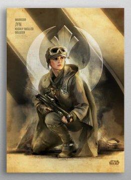 Star Wars Jyn -Rogue One Key Forces-Displate