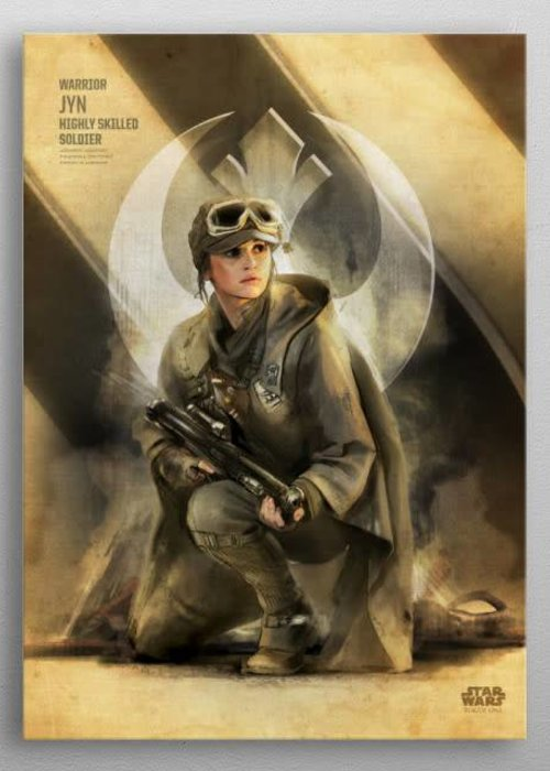 Star Wars Jyn  | Rogue One Key Forces