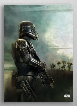 Star Wars On Patrol -Battle Of Scarif - Rogue One - Displate