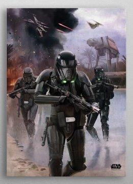 Star Wars Imperial Backup | Battle of Scarif |  Displate