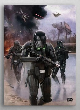 Star Wars Imperial Backup -Battle Of Scarif - Rogue One - Displate