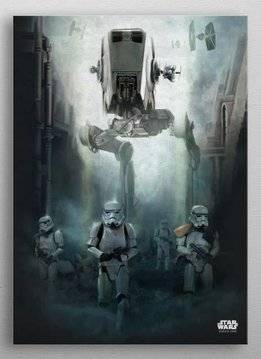 Star Wars Search Team -Battle Of Scarif - Rogue One - Displate