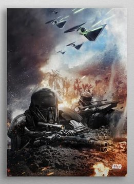 Star Wars Enforcers -Battle Of Scarif - Rogue One - Displate